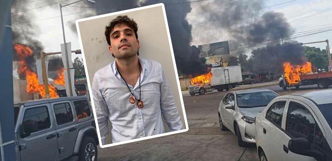 El Chapo'nun Oğlu Tutuklanınca Böyle Savaş Çıktı! Serbest Bırakmak Zorunda Kaldılar!