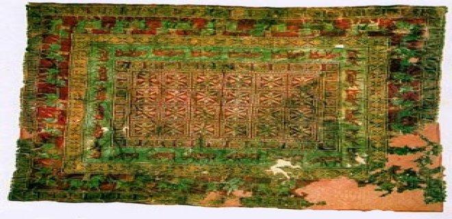 İlk Türk Halısı
