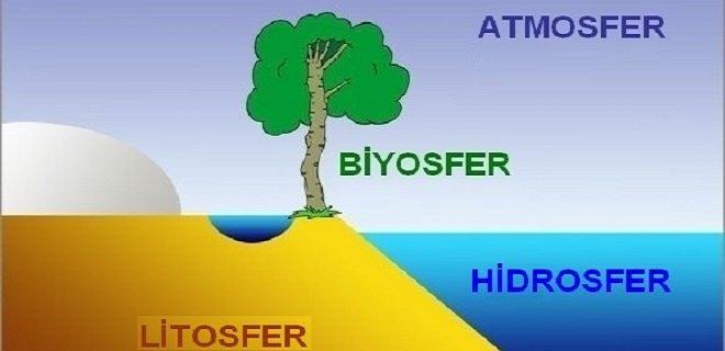 İnsanların Atmosfer, Litosfer, Hidrosfer ve Biyosfer Üzerindeki Etkisi