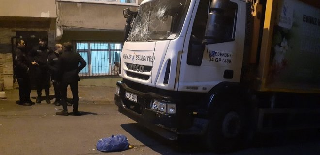 İstanbul'da Feci Ölüm! Yakınları ve Akrabaları Mahalleyi Birbirine Kattı