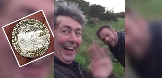 Eşinin Yüzüğünü Arıyordu 1 Milyonluk Hazine Buldu! Tam 500 Yıl Öncesine Ait…