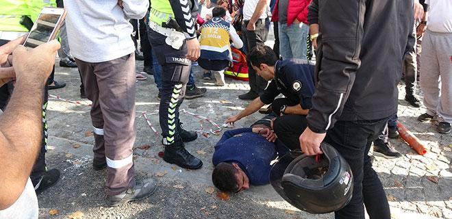 Para Vermeyen Kadına İnşaat Demiri Sapladı! Beyoğlu'nda Dehşet!
