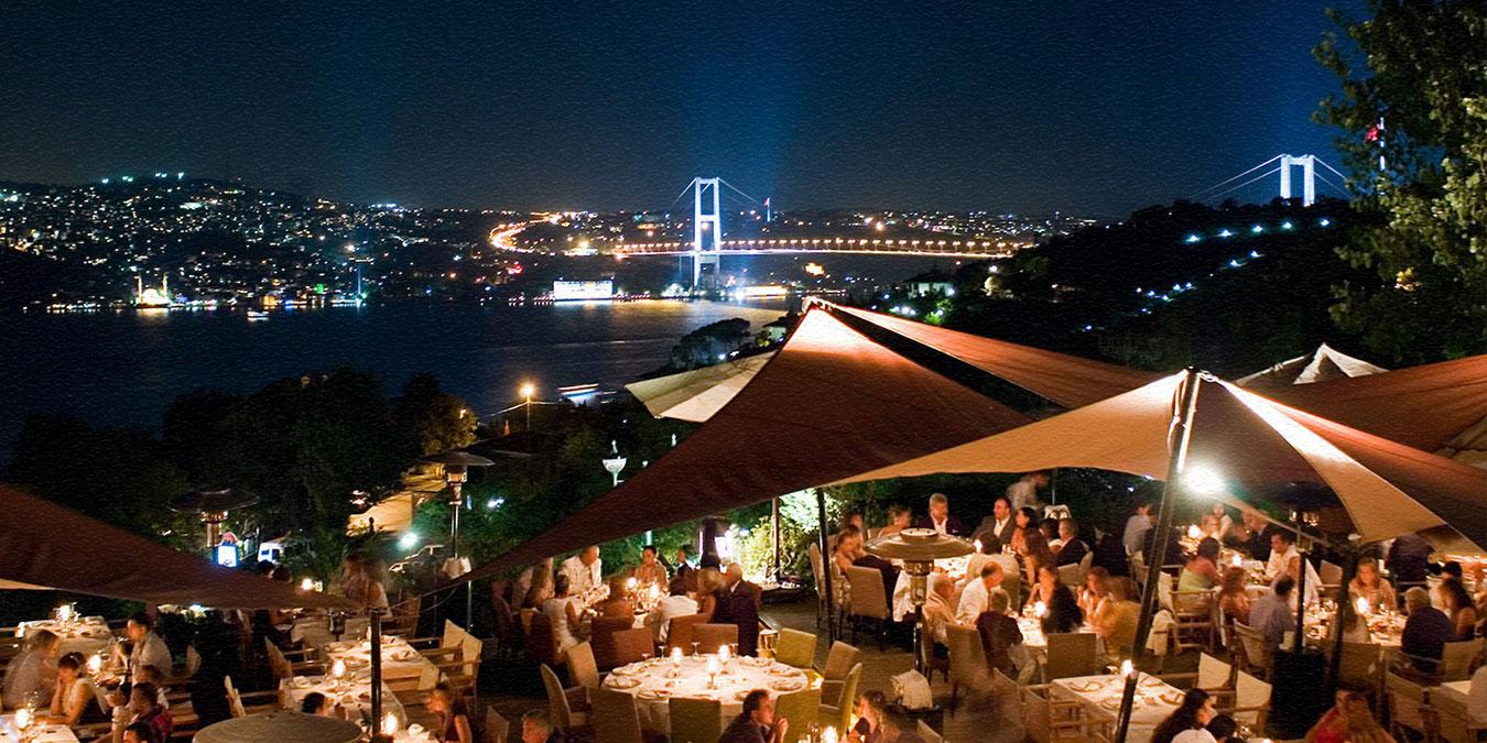 Boğaz'da Akşam Yemeği İçin En İyi Mekanlar