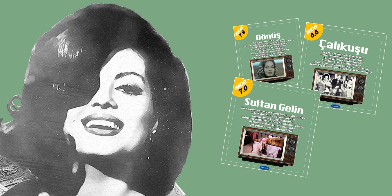 Türkan Şoray Filmleri – Türk Sinemasının En İyi Kadın Oyuncusu Türkan Şoray'ın IMDb Puanı Yüksek 25 Filmi