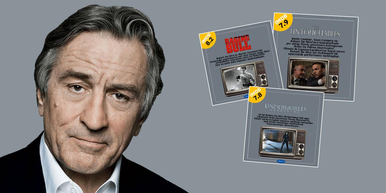 Robert De Niro Filmleri – IMDb Puanı Yüksek Gelmiş Geçmiş En iyi 25 Robert De Niro Filmi