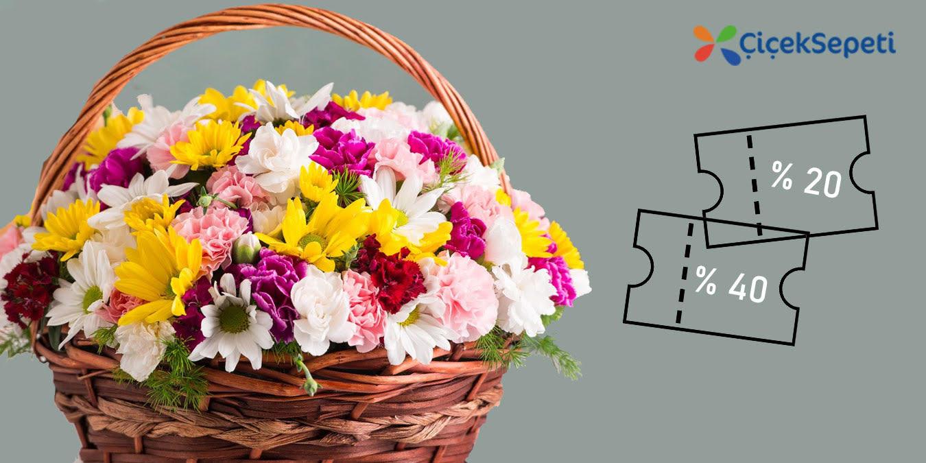 Çiçek Sepeti İndirim Kodu Kuponu   %70   Nisan 2021