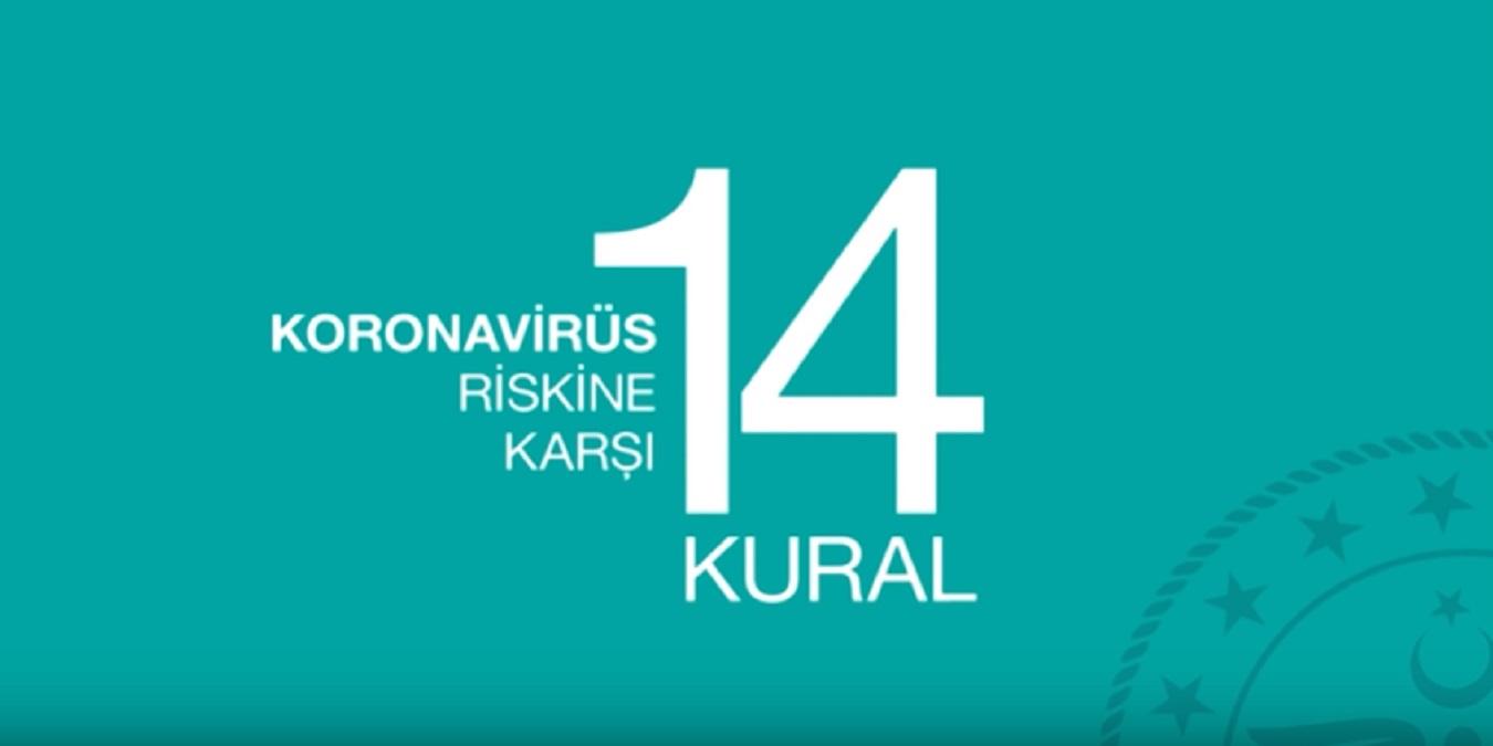 Koronavirüs'ten (COVID-19) Korunmak İçin Uyulması Gereken 14 Altın Kural!