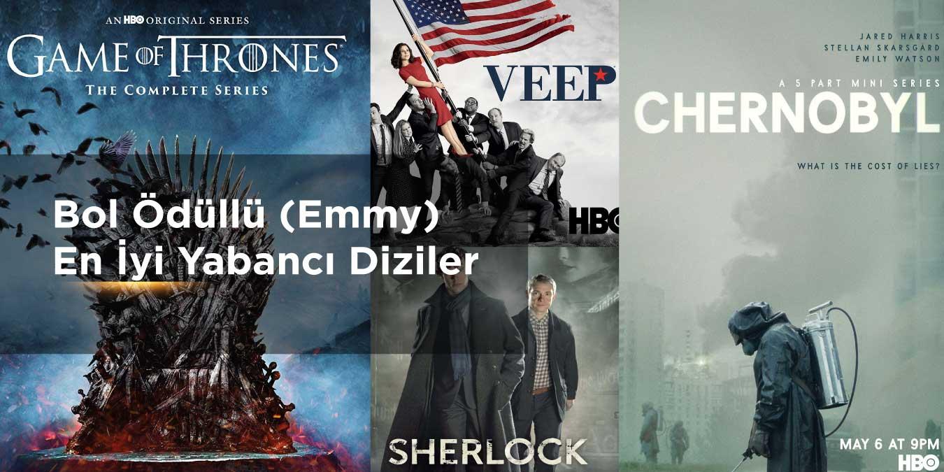 Ödüllü Diziler – Bol Ödüllü (Emmy) En İyi Yabancı Diziler