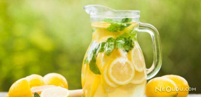 Limonlu Suyun Faydaları Neledir ?