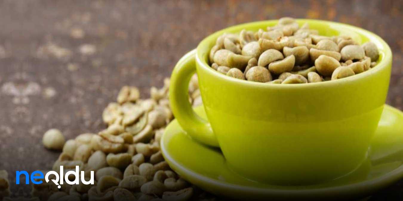 Yağ Yaktırıyor, Kilo Verdiriyor: Yeşil Kahvenin 20 Mucizevi Faydası!