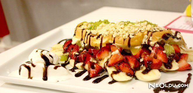 İstanbul'da Waffle Nerede Yenir?