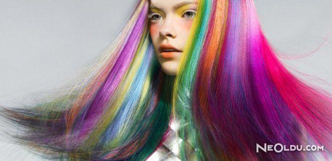 2015 İlkbahar Yaz Renkli Saç Modelleri