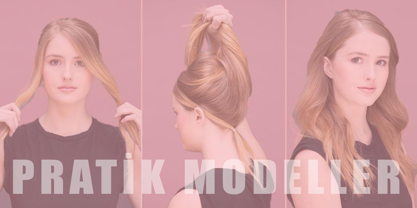 Kadınlar İçin En Kolay ve Hızlı Saç Modelleri