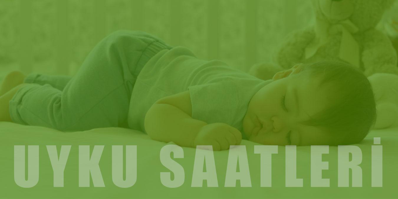 Bebeklerde Ay Ay Uyku Saatleri