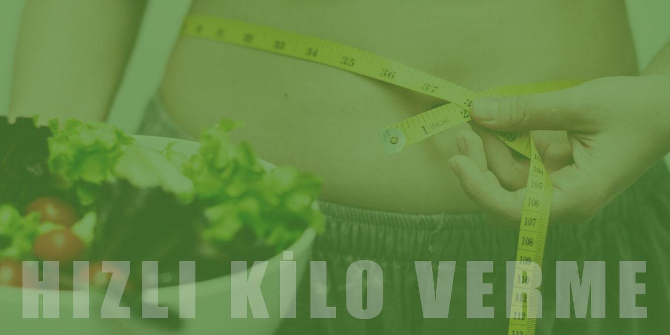 Hızlı Kilo Verme Yöntemleri, Diyet Programları ve  Zayıflatan Bitkisel Çaylar