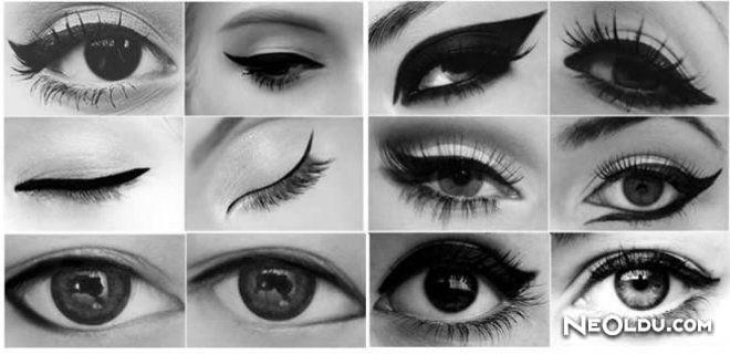 Göz Tiplerine Göre Eyeliner Nasıl Çekilir