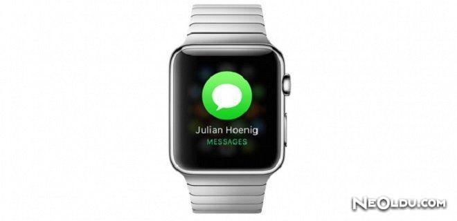 Apple Watch ile Mesaj Çekme