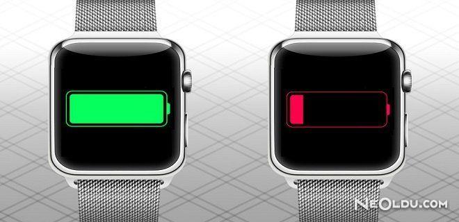 Apple Watch Pil Kullanımı