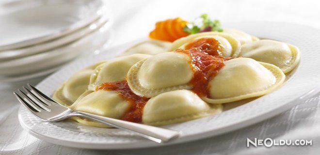 Patlıcanlı Ravioli Nasıl Yapılır ?