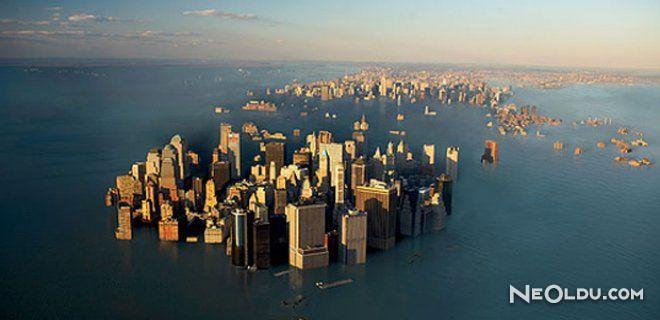 Denizlerin Seviyesi Hızla Yükseliyor