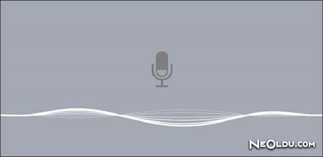 iPhone Telefonlarda Ses ile Mesaj Yazma
