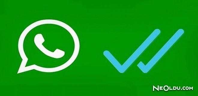 """WhatsApp'a """"Okunmadı Olarak İşaretle"""" Geliyor"""