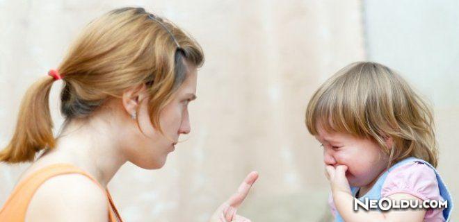 Çocuğunuza Öfkelendiğinizde Ne Yapmalısınız?