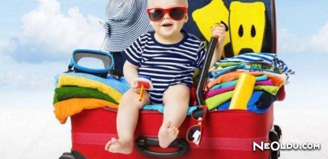 Çocukla Tatile Çıkmadan Önce Bilinmesi Gerekenler