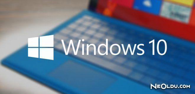 'Windows 10' Satışa Sunuldu