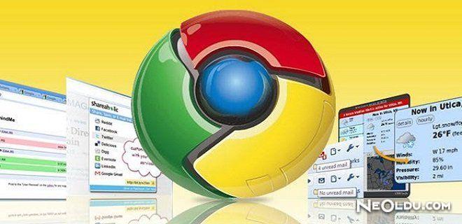 Chrome Eklentilerine Dikkat