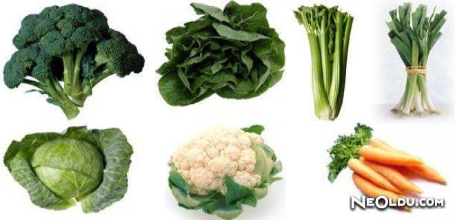 Sebzeleri Faydasına Göre Tüketin