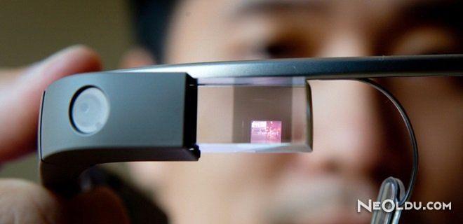 Katlanabilir Google Glass Geliyor