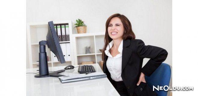 Bilgisayar Başında Çalışanları Bekleyen Sağlık Sorunları