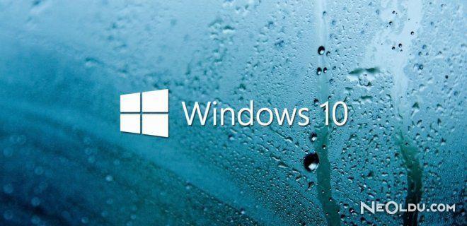 Windows 10'un Verdiği Hatalar ve Çözümü