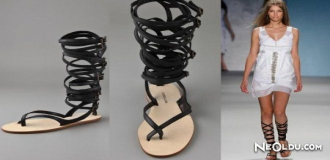 Trendy gladiator sandals