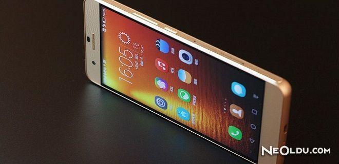 Selfie Makinesi Huawei Honor 7i