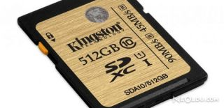 Kingston'dan 512 GB'lık Hafıza Kartı