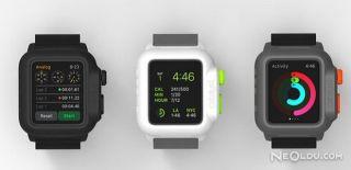 Apple Watch'a Su Geçirmez Kılıf