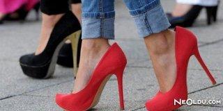Topuklu Ayakkabının Zararları