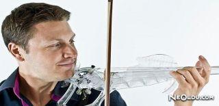 3D Yazıcıyla Çalınabilir Keman Üretildi