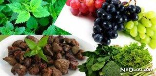 Kansızlığa (Anemi) Çare Olan Gıdalar