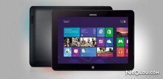 Samsung'dan Yeni Windows 10'lu Tablet