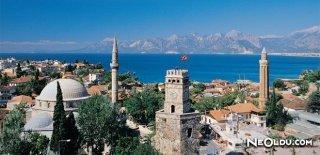Antalya'da Gezilip Görülmesi Gereken Yerler