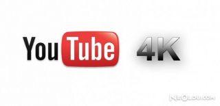 Youtube 4K Videolarda Değişikliğe Gitti