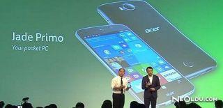 Acer Yeni Windows 10 Telefonunu Görücüye Çıkarttı