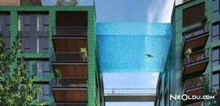 Londra'da Gökyüzü Havuzu Bir İlki Gerçekleştiriyor
