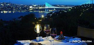 İstanbul'daki Romantik Akşam Yemeği Mekanları