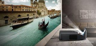 LG'den Teknolojinin Sınırlarını Zorlayan Projektör