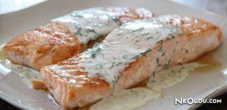 Peynir Soslu Somon Balığı Tarifi