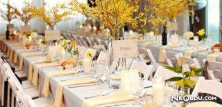 Düğün Davetinde Oturma Düzeni Nasıl Olmalıdır ?